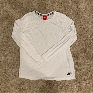 Nike Signal Long Sleeve - White